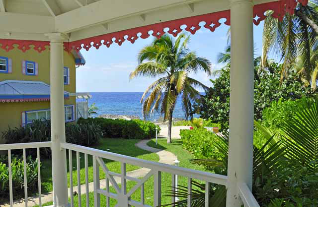 Coconut Bay - View of the Caribbean from the gazebo